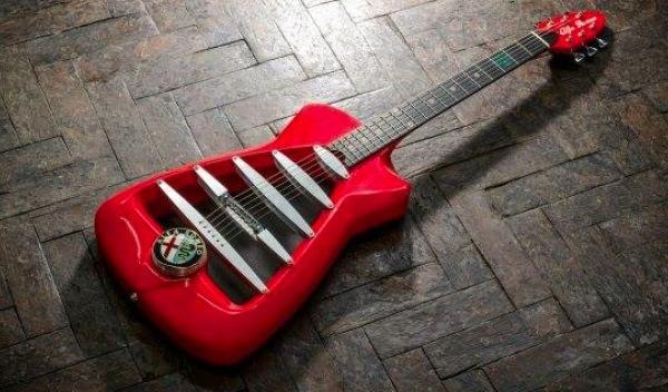Guitarra de Alfa Romeo