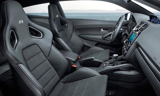 volkswagen scirocco R 2014 asientos