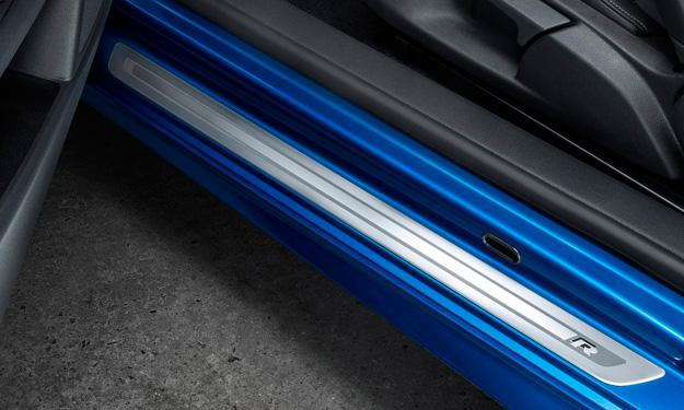 volkswagen scirocco R 2014 moldura