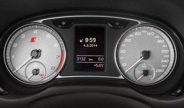 Audi S1 relojes
