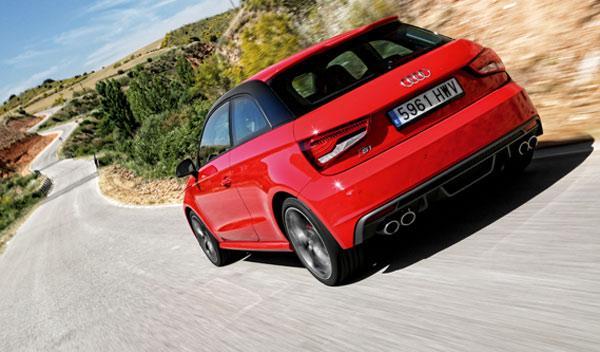 Audi S1 trasera