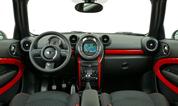 Mini Paceman 2014 interior