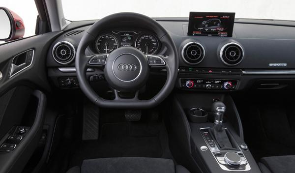 Interior del Audi A3 Sportback e-tron