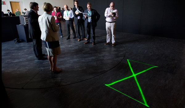 laser referencing system