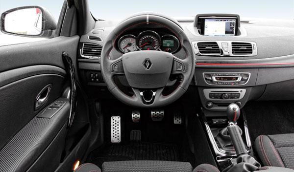 Renault Mégane RS 2014 interior