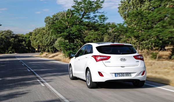 Hyundai i30 Brasil trasera
