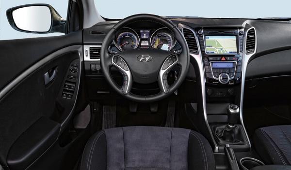Hyundai i30 Brasil interior