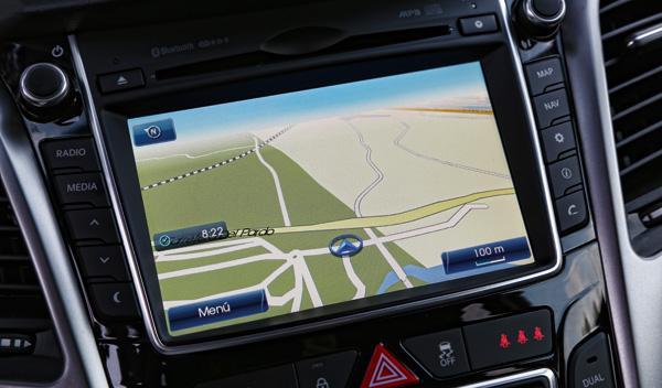 Hyundai i30 Brasil navegador