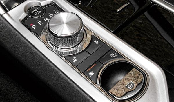Instrumentación del Jaguar XF 3.0D S 2014