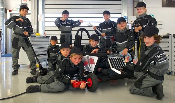 Rolls-Royce eléctrico niños equipo