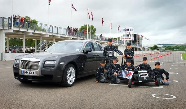 Rolls-Royce eléctrico niños Goodwood