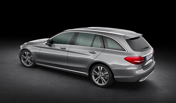 El aspecto del nuevo Mercedes Clase C Estate es mucho más compacto