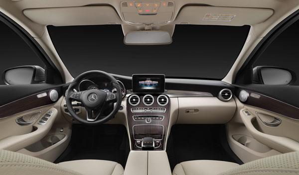 El interior del Mercedes Clase C Estate resulta amplio y muy acogedor