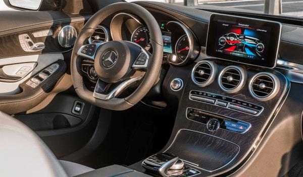 Interior del nuevo Mercedes Clase C Estate