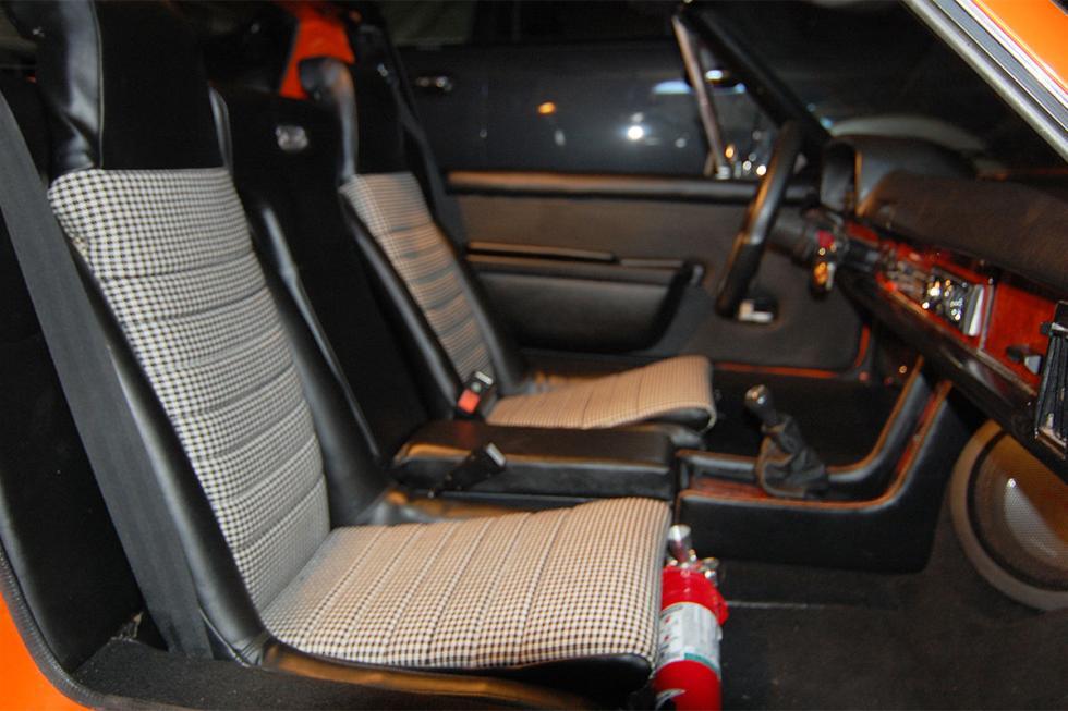 Porsche 914 tuneado interior