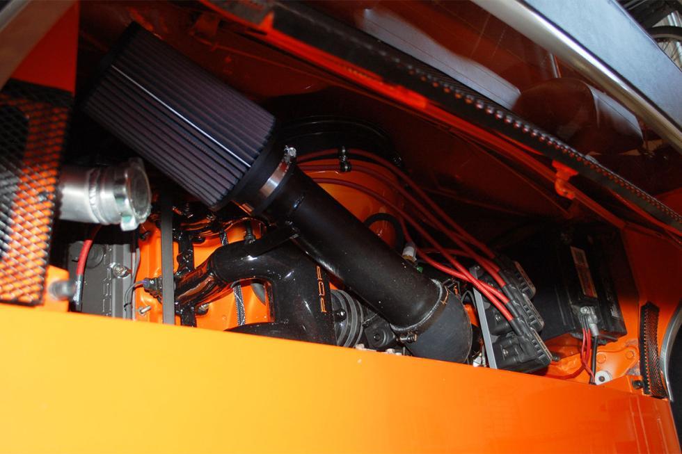 Porsche 914 tuneado detalle