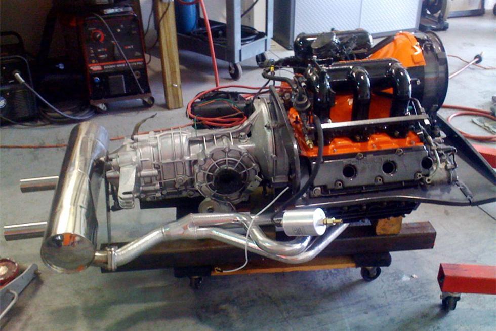 Porsche 914 tuneado detalle motor