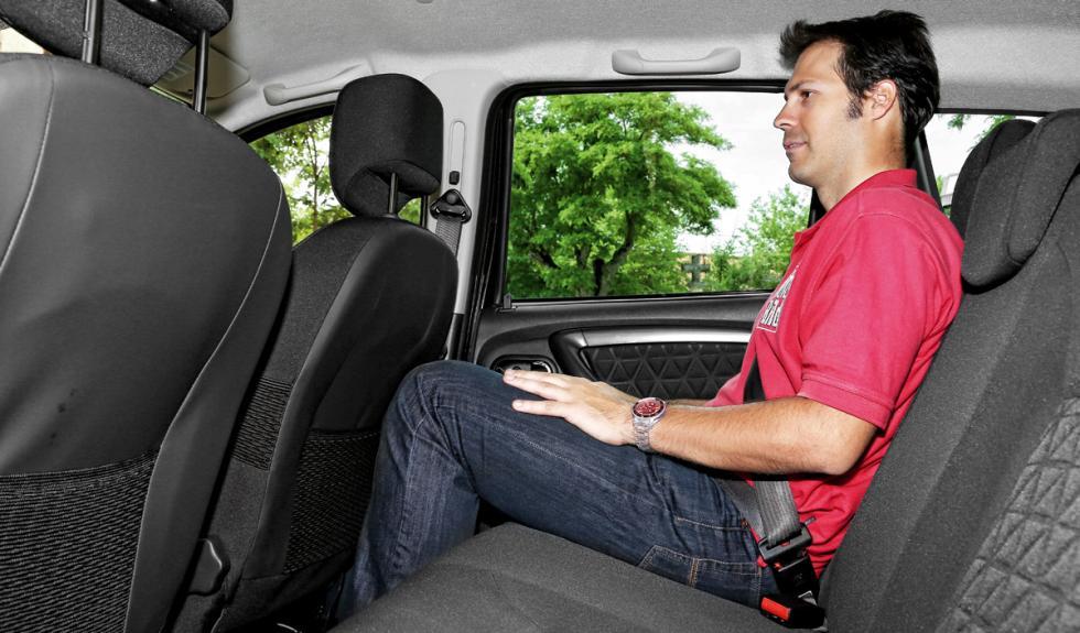 Dacia Duster plazas traseras