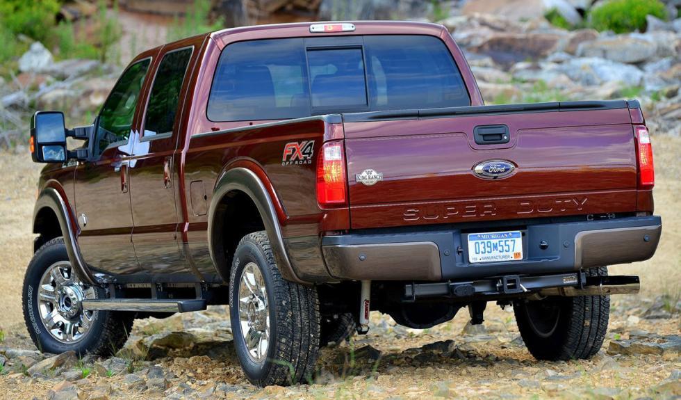 Ford Super Duty 2015 zaga