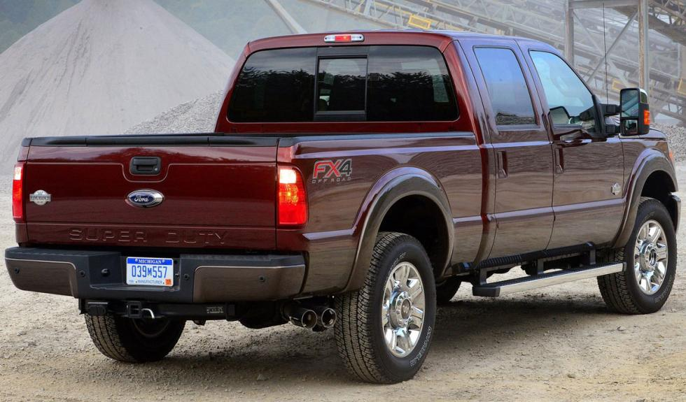 Ford Super Duty 2015 tres cuartos