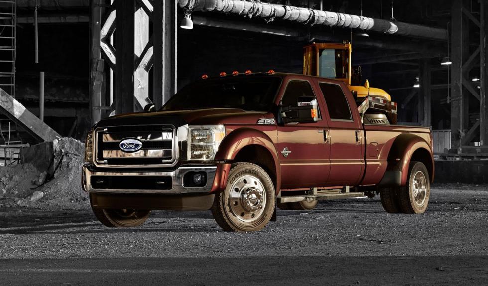 Ford Super Duty 2015 morro