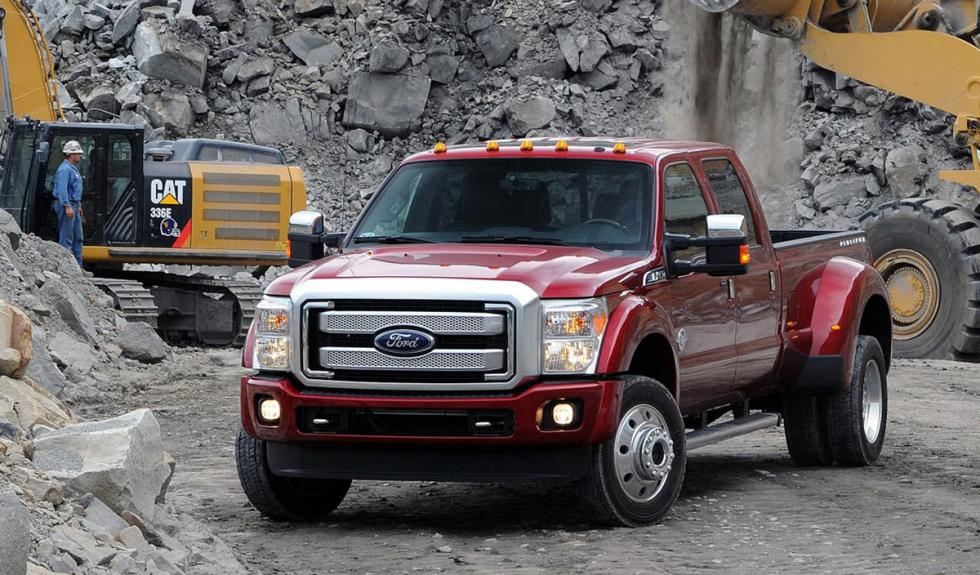Ford Super Duty 2015 carga