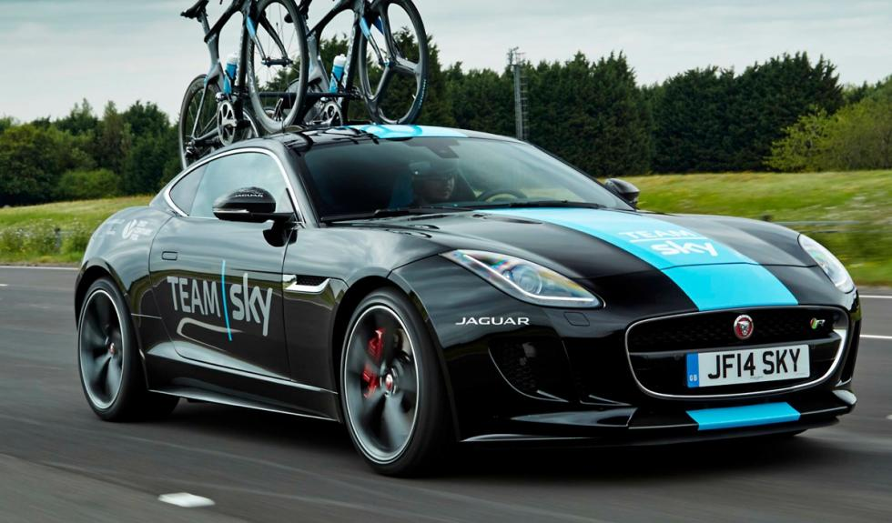 Jaguar F-Type Team Sky