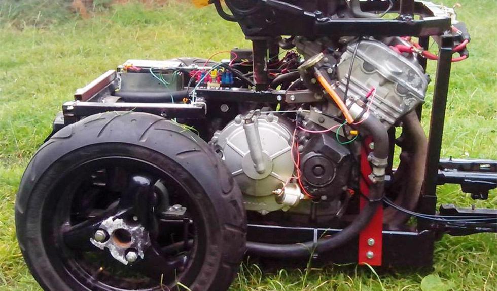 Silla de ruedas a 200 km/h motor
