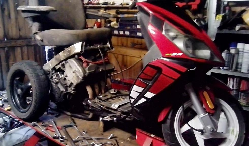 Silla de ruedas a 200 km/h por dentro