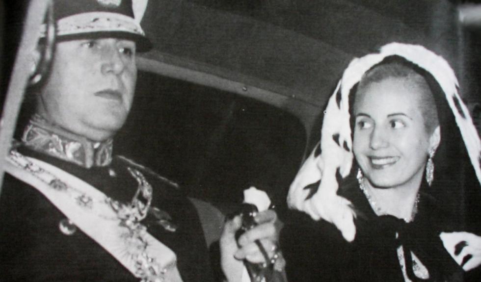 Juan y Eva Peron