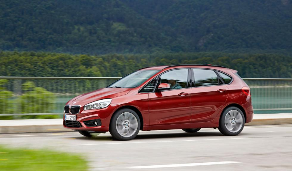 BMW Serie 2 Active Tourer barrido