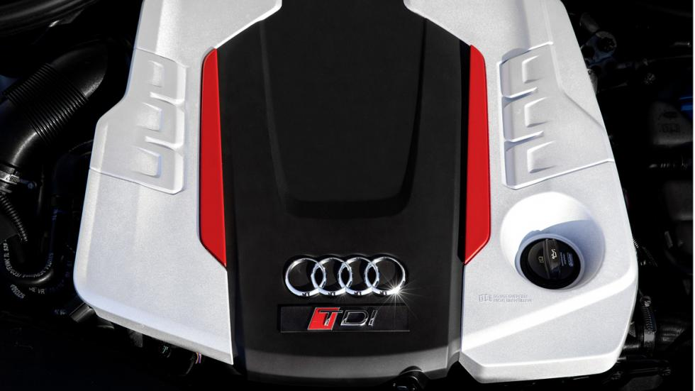 Audi A6 TDI Concept motor