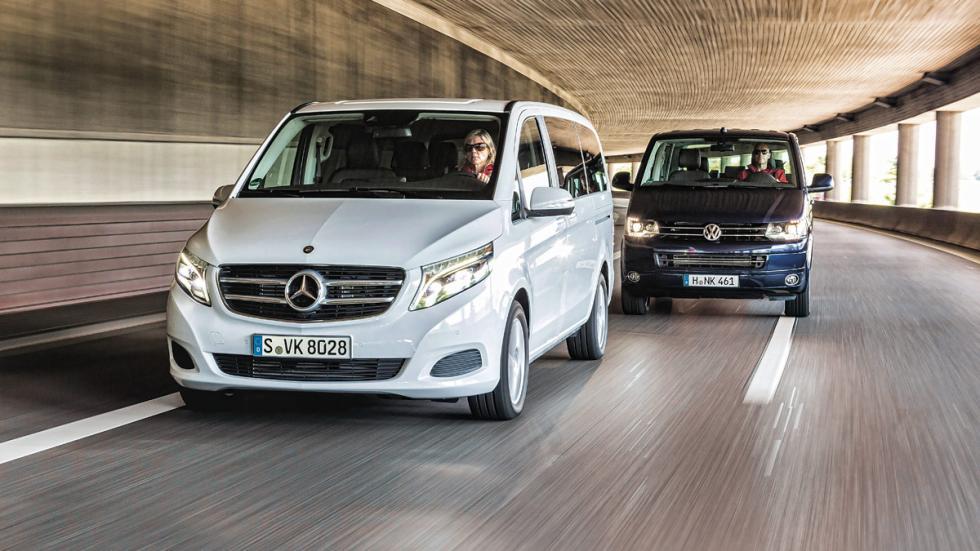 Mercedes Viano-Volkswagen Multivan
