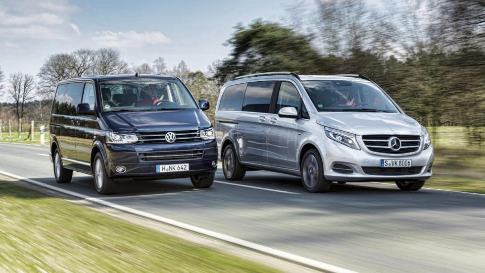 Mercedes Viano/Volkswagen Multivan