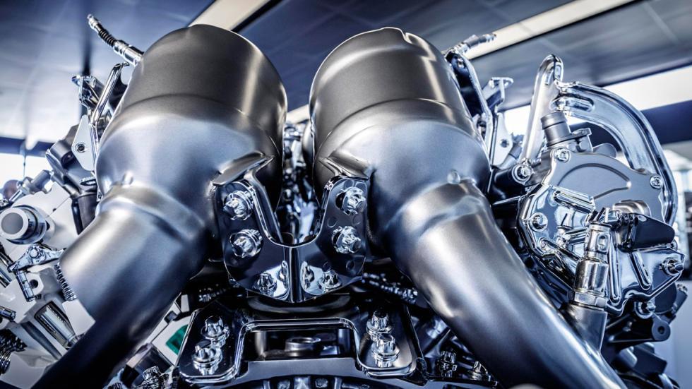 Motor AMG 4.0 V8 Biturbo - Catalizadores