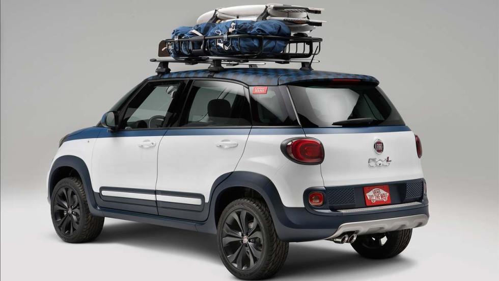 Fiat 500L Vans Concept baca