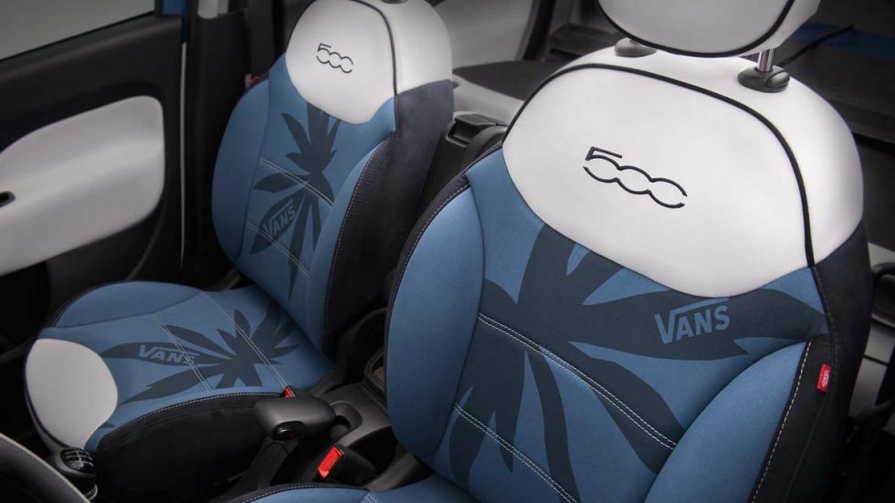 Fiat 500L Vans Concept tapicería