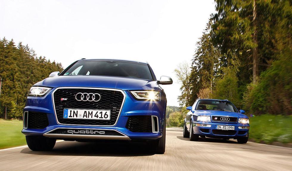 Audi RS Q3 y RS 4