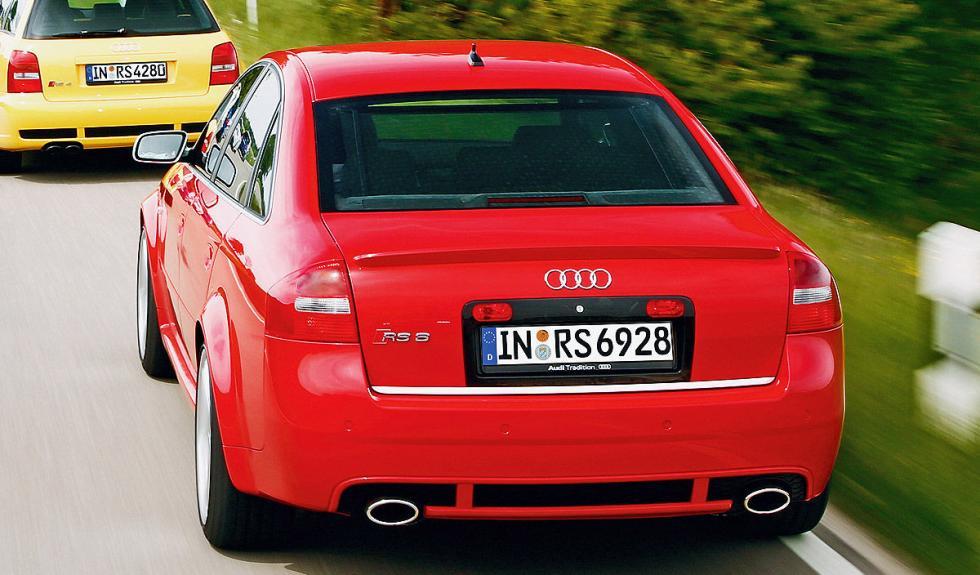 Trasera del Audi RS 6