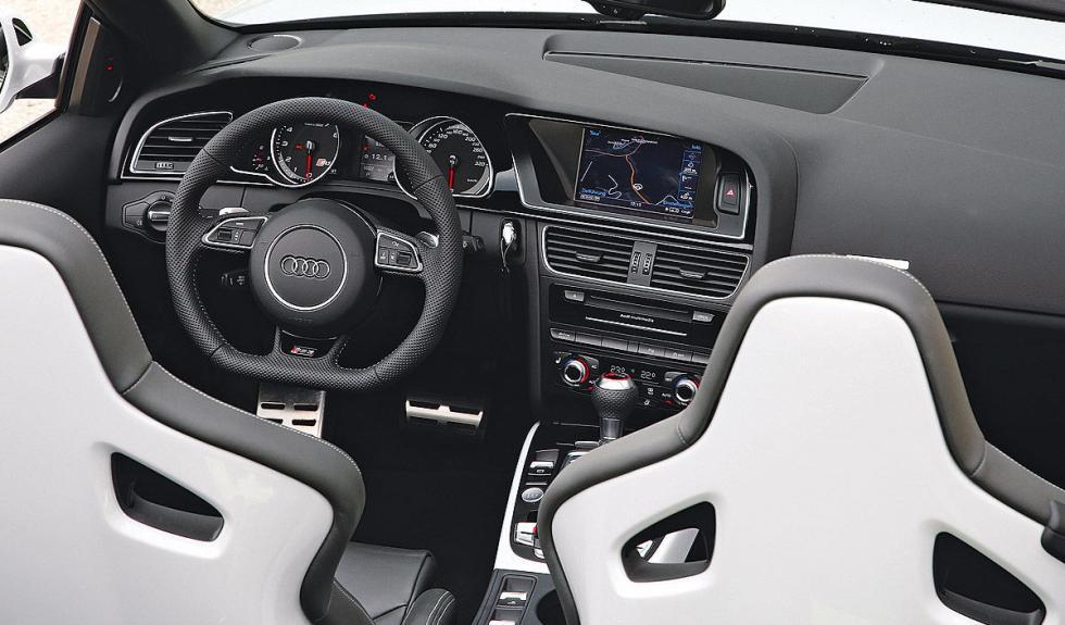 Interior del RS 5 Cabrio