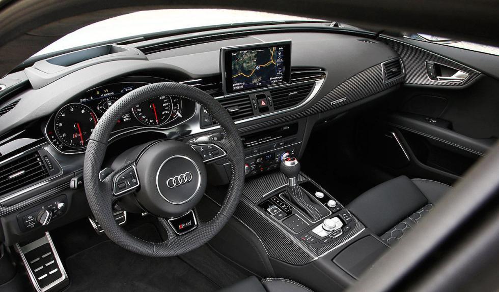 Interior del Audi RS 7 Sportback