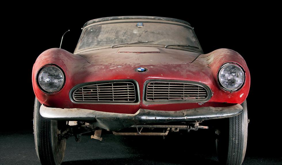 BMW 507 de Elvis Presley morro