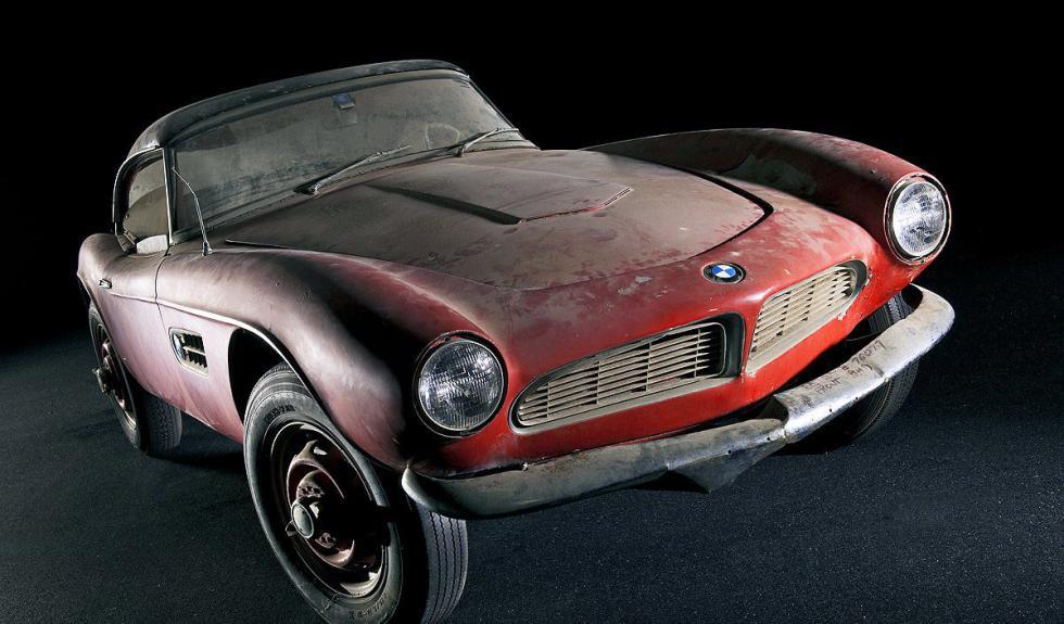 BMW 507 de Elvis Presley delantera