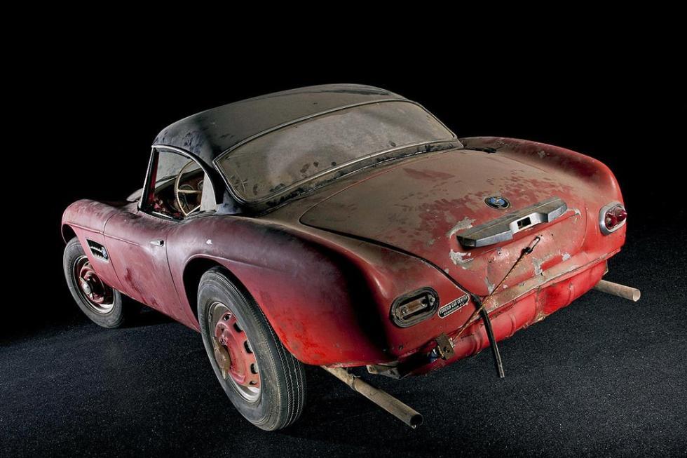 BMW 507 de Elvis Presley trasera