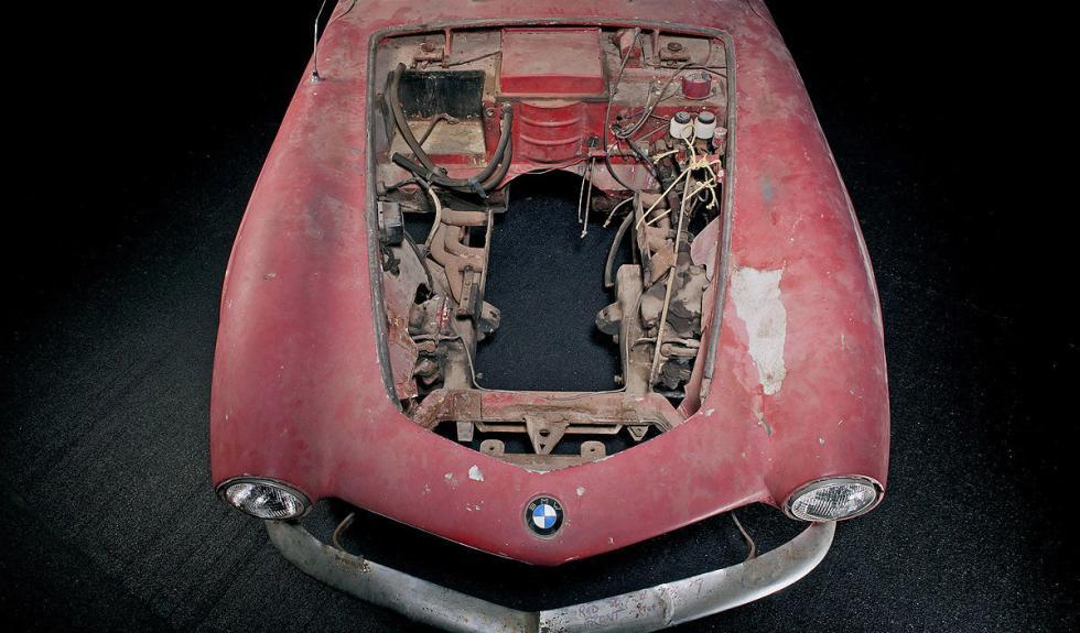 BMW 507 de Elvis Presley motor