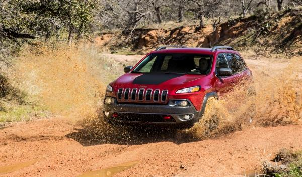 Jeep Cherokee 2014, barro