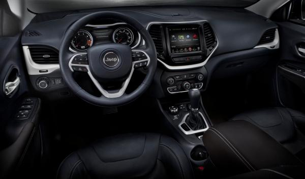 Jeep Cherokee 2014, interior