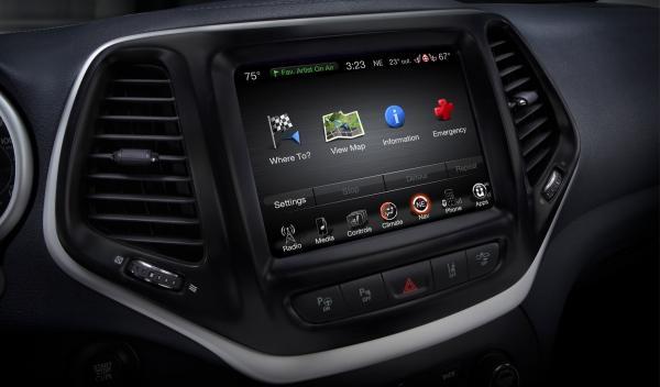 Jeep Cherokee 2013, navegador