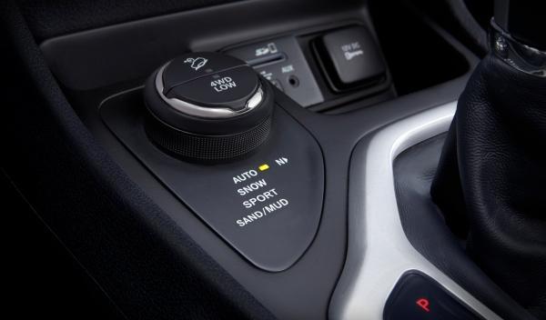 Jeep Cherokee 2013, sistema de tracción