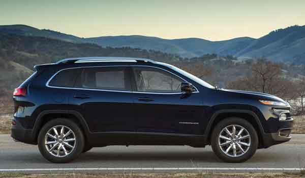 Jeep Cherokee 2014 perfil
